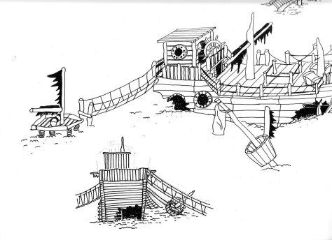 Großes Spielschiff 2